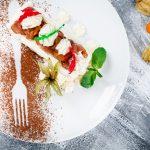 Теплый фруктовый салат с бисквитом_1